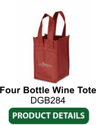 Four Bottle Wine Tote DGB284